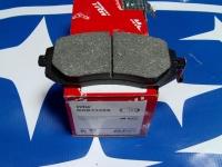 Колодки тормозные передн.TRW 26296SA031