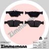 Колодки торм.задние Zimmermann 26696AL000