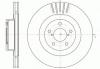 Диск тормозной передний Roadhouse 26300SA001