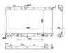 Радиатор охлаждения двигателя Polcar 45119SC020